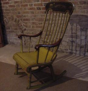 Painted Boston Rocker Chair - £495