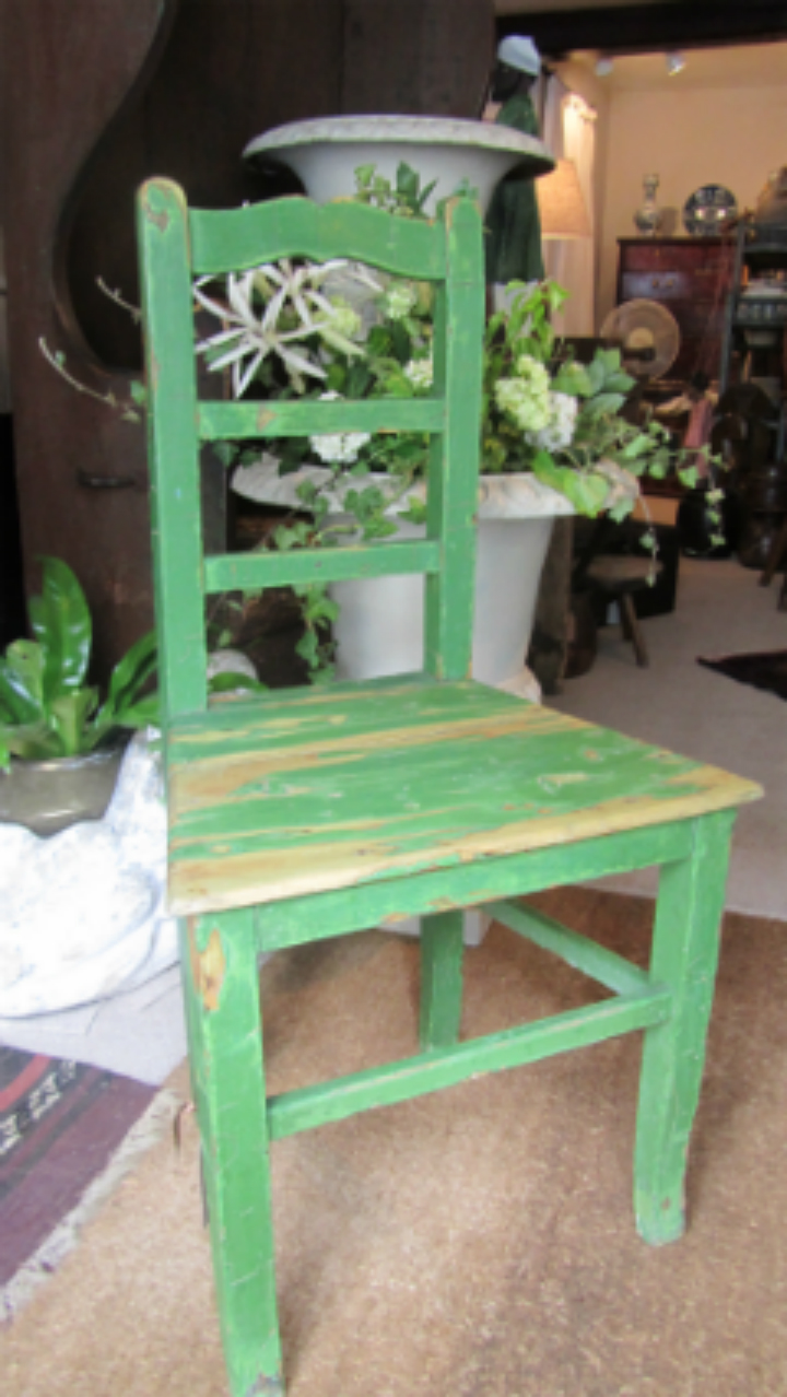 Painted chair - £55
