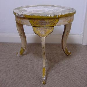 Painted urn stand - £125
