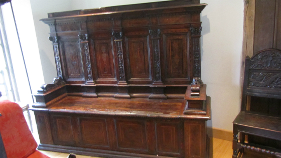 Pair of 16c Walnut settles - PoA