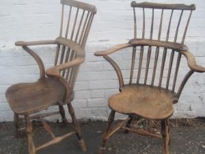 pair of West Country Windsor  Armchairs - PoA
