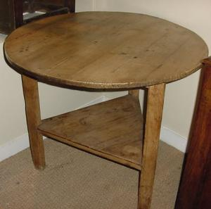 Pine Cricket Table - £495