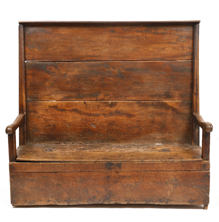 Primitive Tavern Settle - £1,875