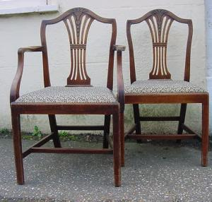 Set of chairs - £1,250
