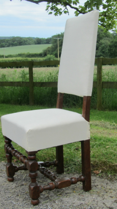 Set of six Walnut dining chairs - £1,250