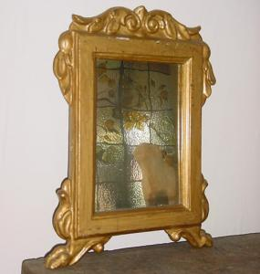 Small Gilt Antique Mirror - PoA
