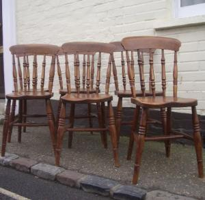 Spindle back Windsor Chairs - £595