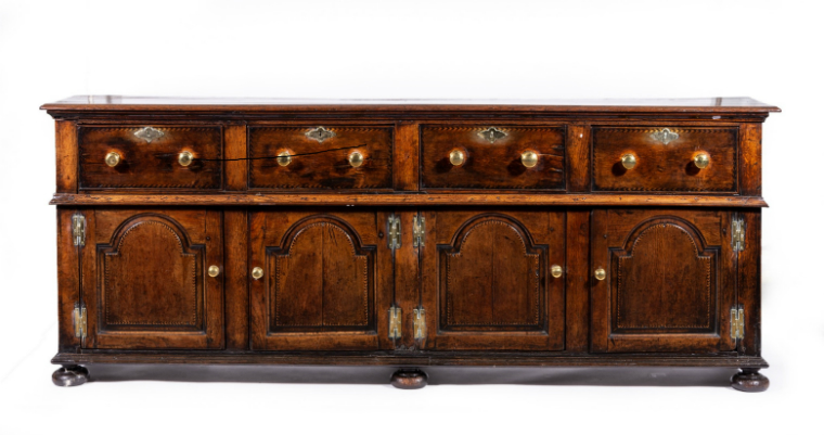 Stunning 18c Oak Dresser Base - £6,950