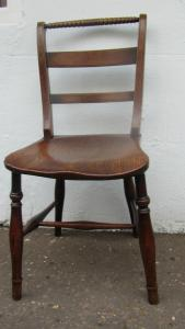 True set of six Fruitwood and Elm Windsor side chairs - £1,800