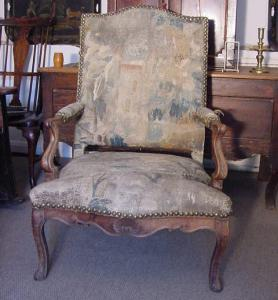 Walnut Armchair - £1,650