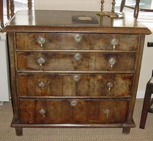 Walnut Chest of Drawers - £1,450