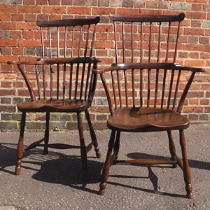 Windsor Armchairs - £1,450
