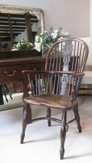 Yew Windsor Armchair - £795