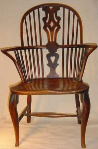 Yew Windsor Armchair - £2,500